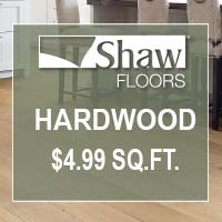 Hardwood on sale this month at Fine Floorz!
