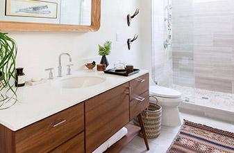 Bathroom Project by Fine Floorz in Walnut Creek