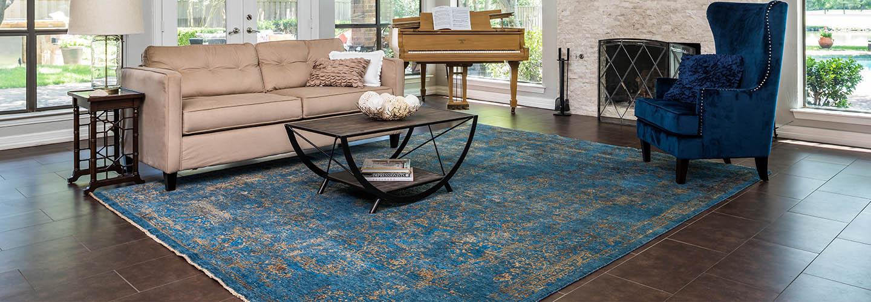 Monthly area rug specials roomscene