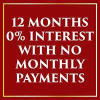 Get 12 months 0% interest Finance with no monthly payments during our Holiday Flooring Sale at Fine Floorz in Walnut Creek, CA