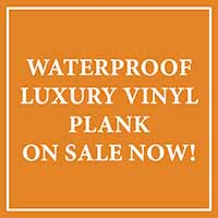 National Flooring Extravaganza Sale going on now! Waterproof luxury vinyl plank on sale now! - Only at Fine Floorz in Walnut Creek, California!
