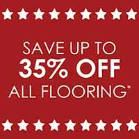 Save up to 35% on Flooring during our Presidents Day Sale at Fine Floorz