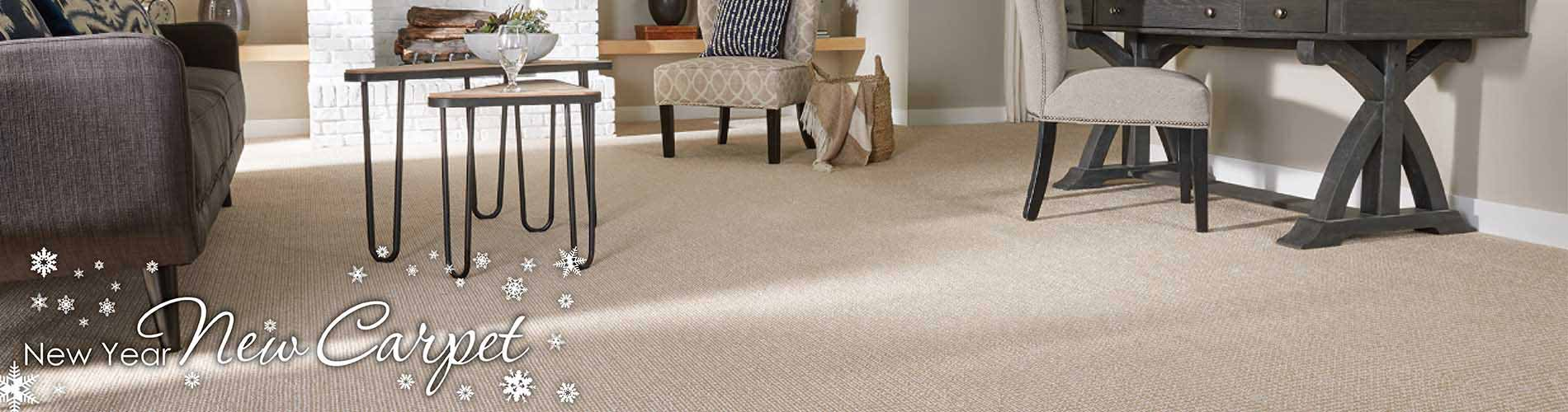 Save on carpet during our New Year New Floor sale at Fine Floorz in Walnut Creek
