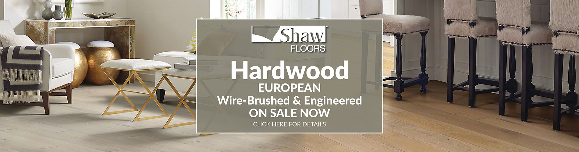 Shaw european hardwood flooring on sale at  Fine Floorz. Wire-brushed and engineered on sale now.